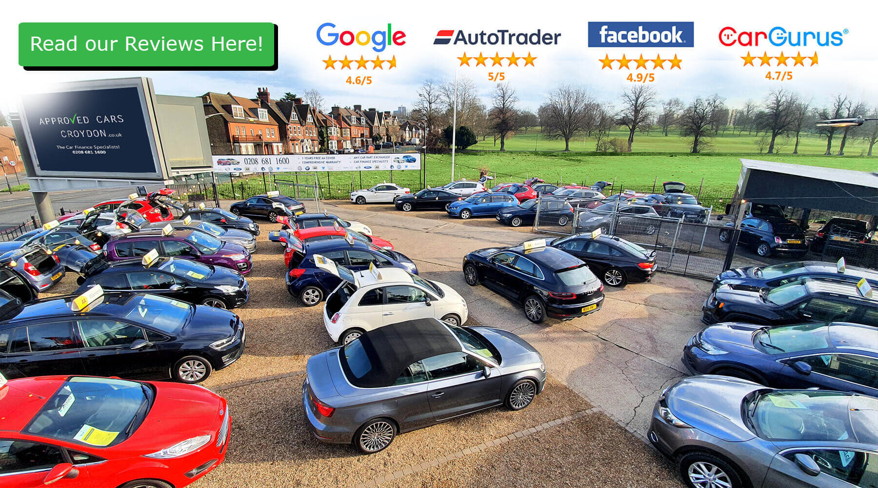 Used Cars And Finance Specialists Approved Cars Croydon